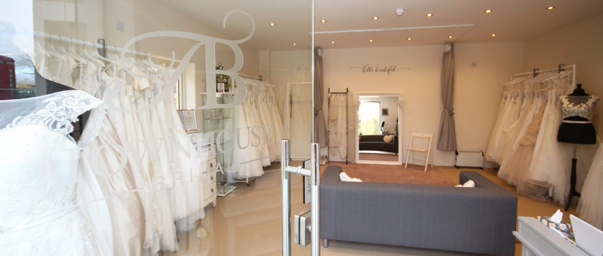 Bridal boutique interior